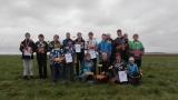 skupinové foto závodníků